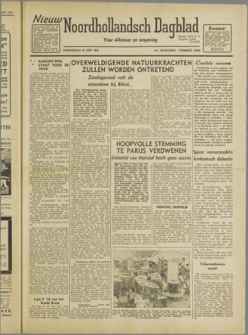 Nieuw Noordhollandsch Dagblad : voor Alkmaar en omgeving 1946-06-27
