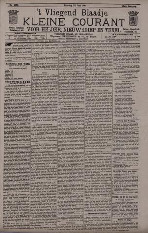 Vliegend blaadje : nieuws- en advertentiebode voor Den Helder 1895-06-22