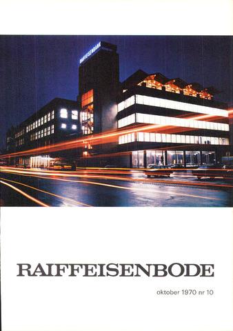 blad 'De Raiffeisen-bode' (CCRB) 1970-10-01