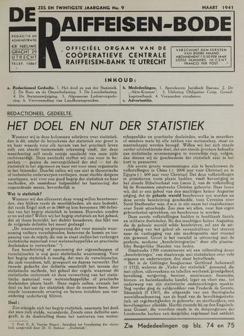 blad 'De Raiffeisen-bode' (CCRB) 1941-03-01