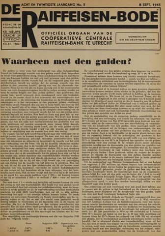 blad 'De Raiffeisen-bode' (CCRB) 1945-09-08