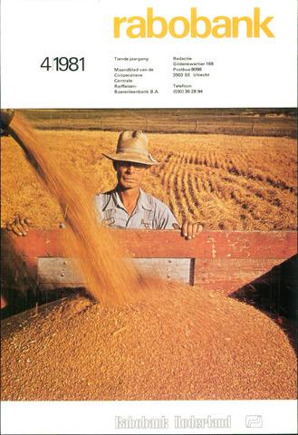 blad 'Rabobank' 1981-04-01