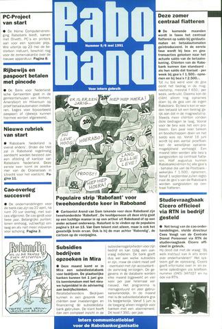 blad 'Raboband' 1991-05-06