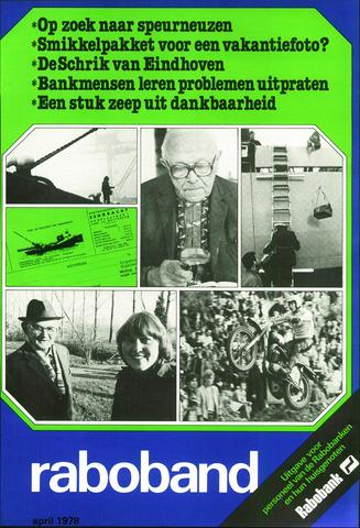 blad 'Raboband' 1978-04-01