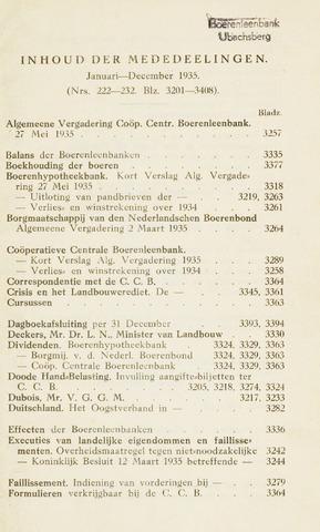 blad 'Maandelijkse Mededelingen' (CCB) 1935-01-01