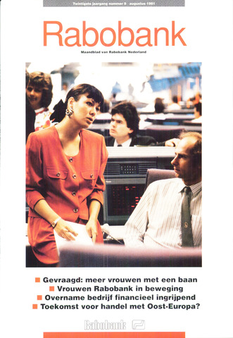 blad 'Rabobank' 1991-08-01