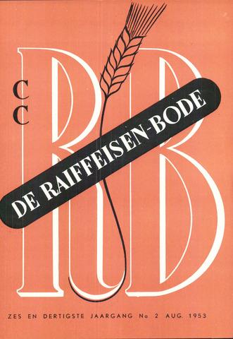 blad 'De Raiffeisen-bode' (CCRB) 1953-08-01