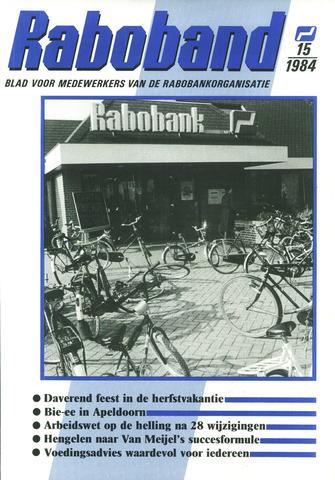 blad 'Raboband' 1984-11-07