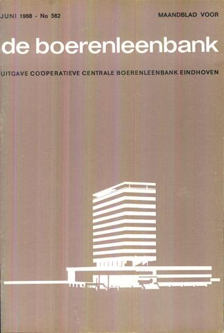 blad 'de boerenleenbank' (CCB) 1968-06-01