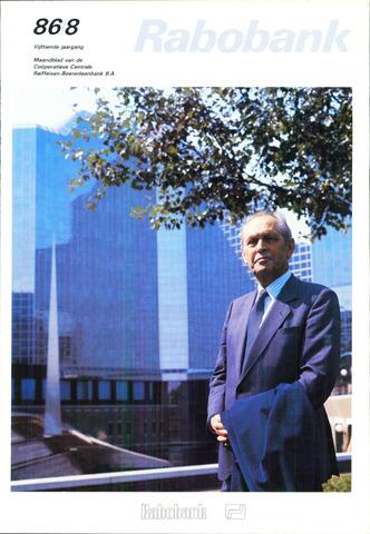 blad 'Rabobank' 1986-08-01