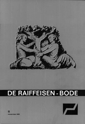 blad 'De Raiffeisen-bode' (CCRB) 1965-11-01