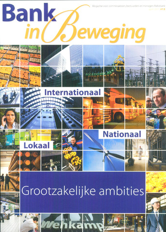 blad 'Bank in Beweging' 2011-04-01