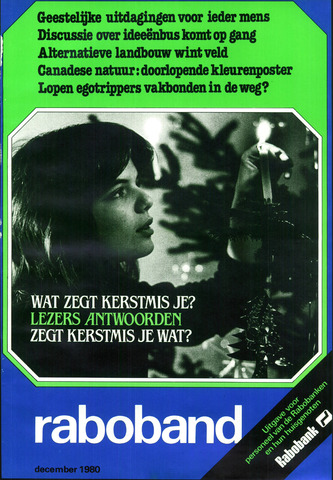 blad 'Raboband' 1980-12-01