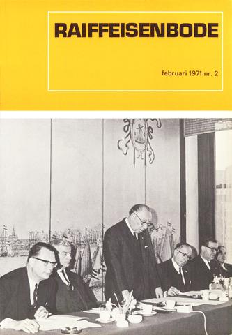 blad 'De Raiffeisen-bode' (CCRB) 1971-02-01