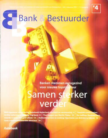 blad 'Bank & Bestuurder' 2002-07-01