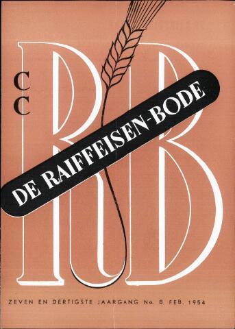 blad 'De Raiffeisen-bode' (CCRB) 1954-02-01