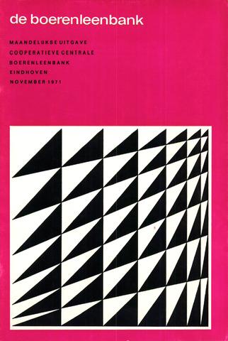 blad 'de boerenleenbank' (CCB) 1971-11-01