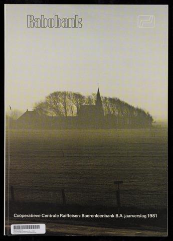 Jaarverslagen Rabobank 1981-12-31