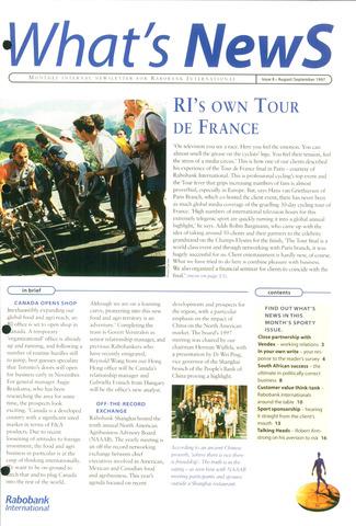 blad 'What's news' (EN) 1997-08-01