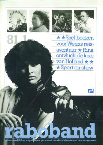 blad 'Raboband' 1981