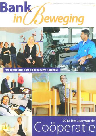 blad 'Bank in Beweging' 2011-11-01