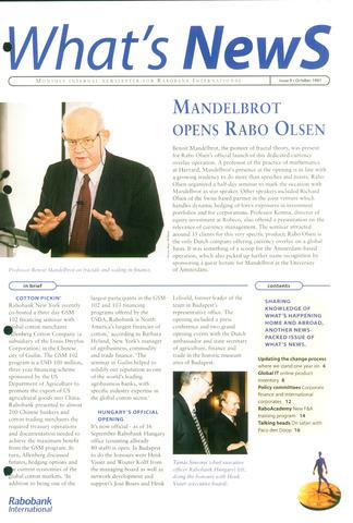 blad 'What's news' (EN) 1997-10-01