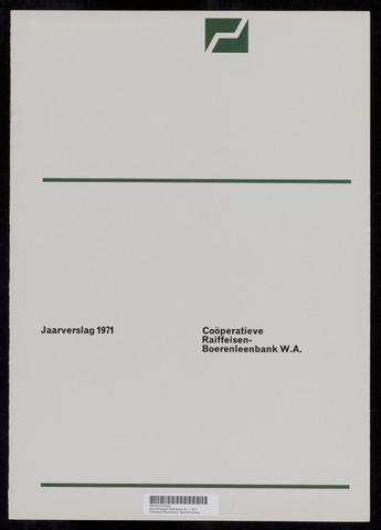 Jaarverslagen Rabobank 1971-12-31