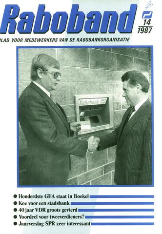 blad 'Raboband' 1987-10-21