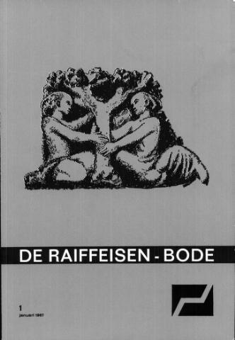 blad 'De Raiffeisen-bode' (CCRB) 1967