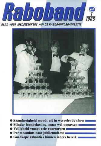 blad 'Raboband' 1985-01-16