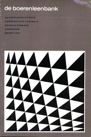 blad 'de boerenleenbank' (CCB) 1970-03-01