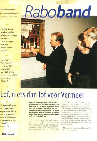 blad 'Raboband' 1995-11-27