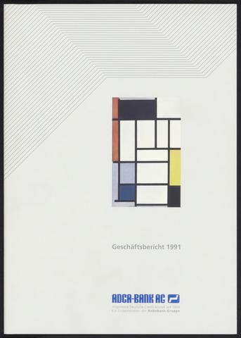 Geschäftsberichte Allgemeine Deutsche Credit-Anstalt / ADCA Bank 1991-01-01