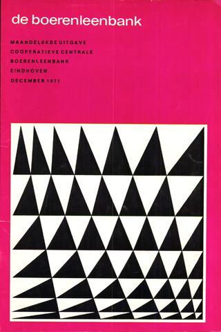 blad 'de boerenleenbank' (CCB) 1971-12-01