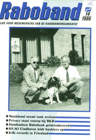 blad 'Raboband' 1986-10-15