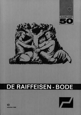 blad 'De Raiffeisen-bode' (CCRB) 1968-10-01