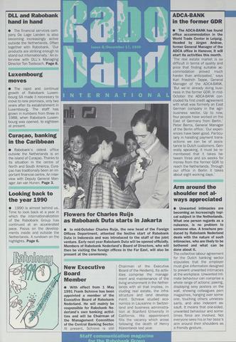 blad 'Raboband International' (EN) 1990-12-17