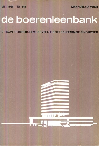 blad 'de boerenleenbank' (CCB) 1968-05-01