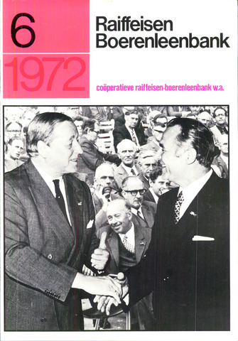blad 'Raiffeisen Boerenleenbank' 1972-06-01