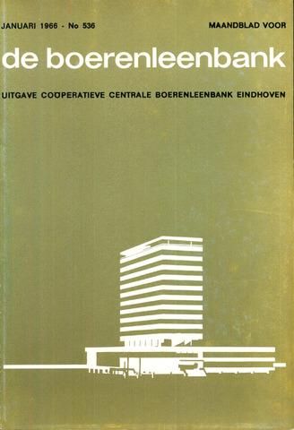 blad 'de boerenleenbank' (CCB) 1966