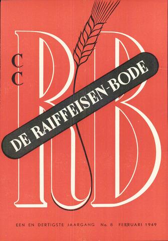 blad 'De Raiffeisen-bode' (CCRB) 1949-02-01