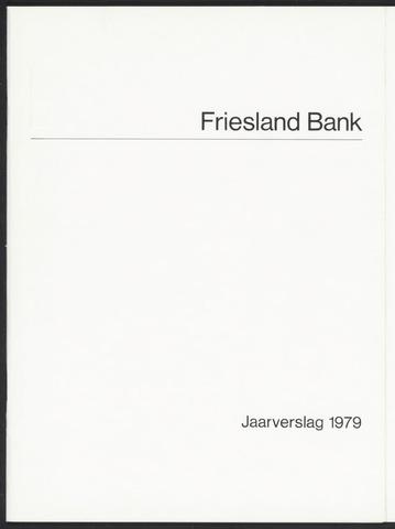 Jaarverslagen Friesland Bank 1979