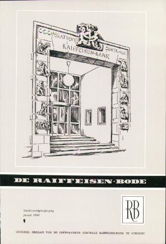 blad 'De Raiffeisen-bode' (CCRB) 1960