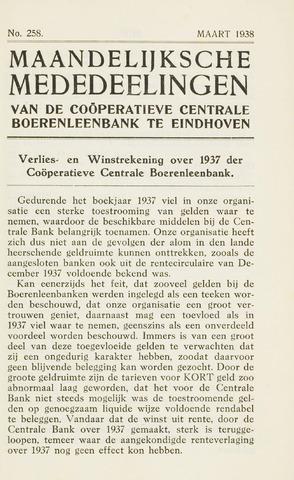 blad 'Maandelijkse Mededelingen' (CCB) 1938-03-01