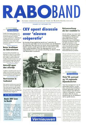 blad 'Raboband' 1994-09-19