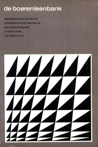 blad 'de boerenleenbank' (CCB) 1970-10-01