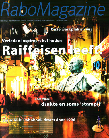 blad 'RaboMagazine' 1996-12-01