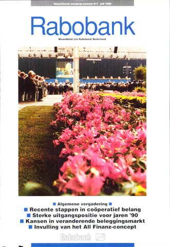 blad 'Rabobank' 1990-06-01