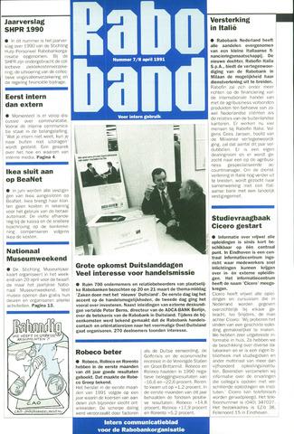 blad 'Raboband' 1991-04-08