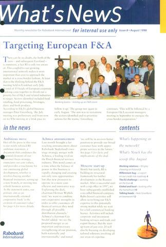 blad 'What's news' (EN) 1998-08-01